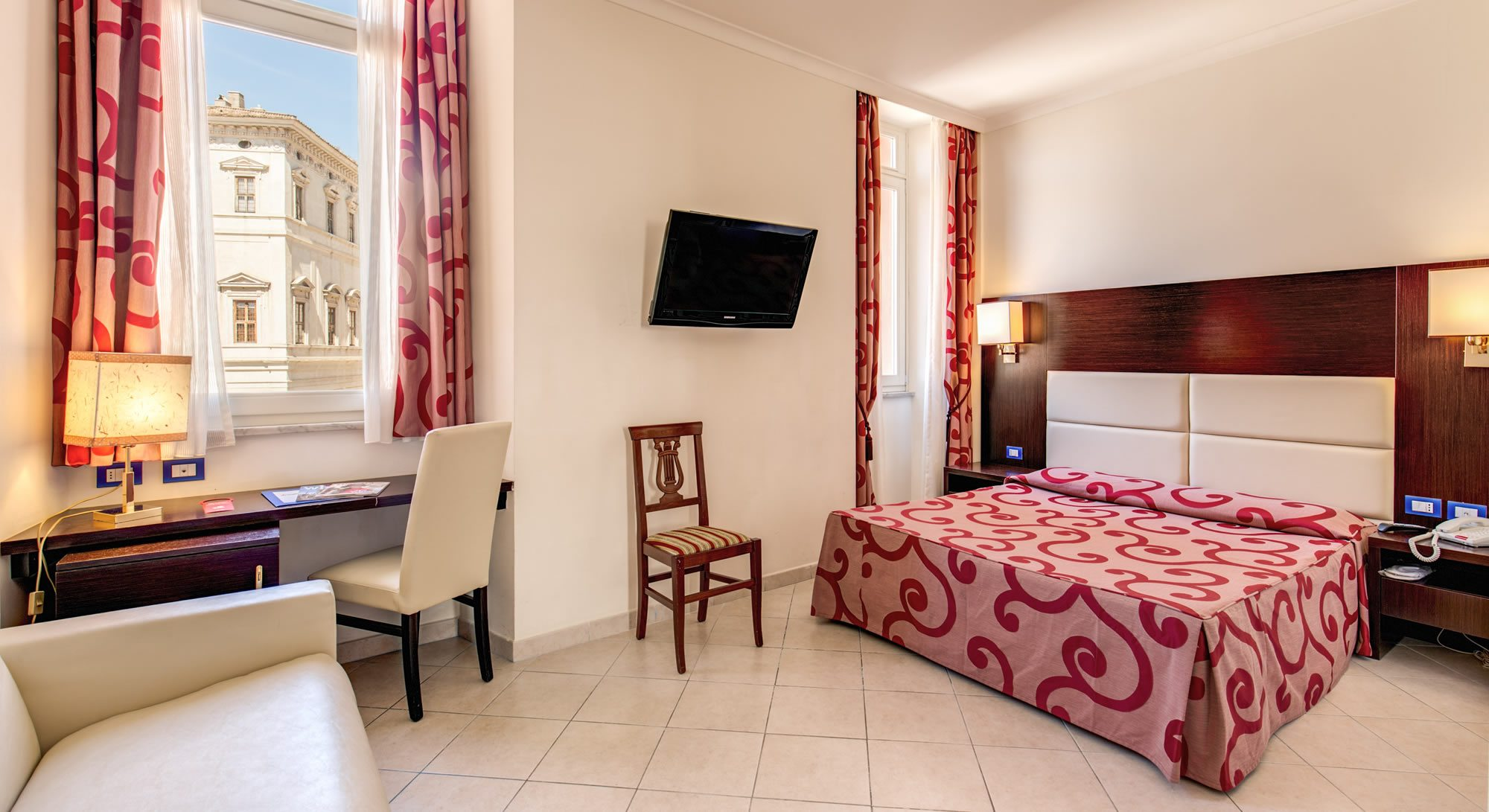 Hotel Anglo Americano Rome™ - OFFICIAL SITE - BEST RATES GUARANTEED